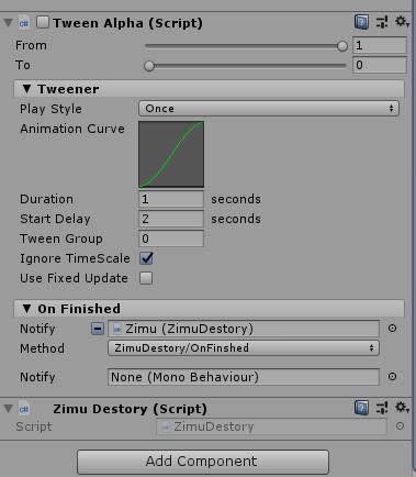 如何在Unity3D中实现滚动通知
